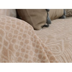 Nef-Nef Ριχτάρι Fleece Καναπέ 130x170 Cedar Beige