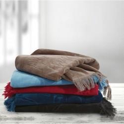 Greenwich Polo Club  Πετσέτα Θαλάσσης Essential Beach Towel-Pareo 2811 Beige Jacquard Cotton (70x170)