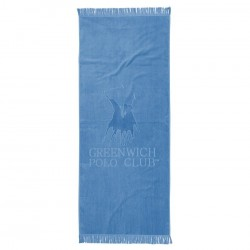 Greenwich Polo Club  Πετσέτα Θαλάσσης Essential Beach Towel-Pareo 2878 Beige Jacquard Cotton (70x170)