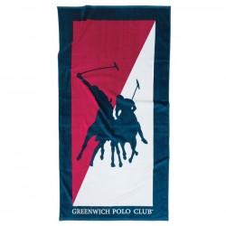 Greenwich Polo Club  Πετσέτα Θαλάσσης Essential Beach 2858 Cotton  (80x160)