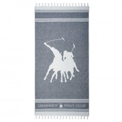 Greenwitch Polo Club  Πετσέτα Θαλάσσης Essential Beach 3523 Jacquard Cotton  (80x180)