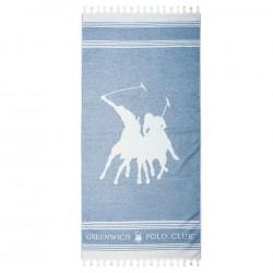 Greenwitch Polo Club  Πετσέτα Θαλάσσης Essential Beach 3524 Jacquard Cotton  (80x180)