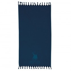 Greenwitch Polo Club  Παρεό Essential Beach Towel-Pareo 2815 Blue Jacquard Cotton  (90x170)