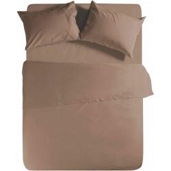 Nef-Nef Σεντόνι Υπέρδιπλο 240x270 Basic 1012 Brown