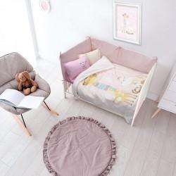 Das Home Κουβέρτα Κούνιας Fleece 110x140 6556 Μπεζ