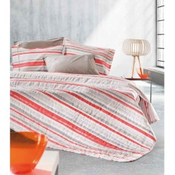 Σετ Σεντόνια King Size Guy Laroche Optic Coral Coral 270x280cm