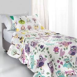 Κουβερλί Παιδικό Owl Saint Clair Μονό - 160x220