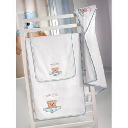 Βρεφικές Πετσέτες Σετ Teddy Sky Saint Clair Σετ Πετσέτες - 40x60cm