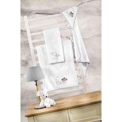 Βρεφικές Πετσέτες (Σετ 2τμχ) Saint Clair Nosy 40x60