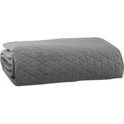 Nef-Nef Κουβερλί Υπέρδιπλο 240x230 Velvet Sense Grey