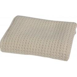 Nef-Nef Κουβέρτα Αγκαλιάς Miracle Linen Βαμβακερή 110x80 Μπεζ