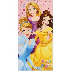 Πετσέτα Θαλάσσης Παιδική Princess Diamonds Nef-Nef 70x140