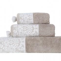 Πετσέτα Σώματος (70x140) Nef-Nef Nadia Taupe
