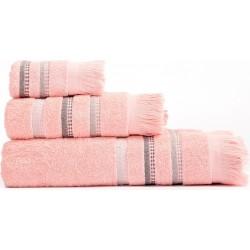 Πετσέτες Σετ 3Τμχ Limit Pink Nef Nef