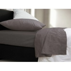 Σεντόνι Μονό Nef-Nef Basic Dark Grey 170x270