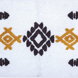 Nef-Nef Πατάκι Μπάνιου 60x90 Perez White