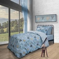Σεντόνια Μονά (Σετ) Polo Club Essential Junior 2907 170x260