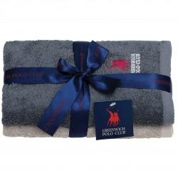 Πετσέτες Προσώπου (Σετ 2τμχ) Polo Club Essential 2510 50x90
