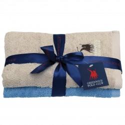 Πετσέτες Προσώπου (Σετ 2τμχ) Polo Club Essential 2511 50x90