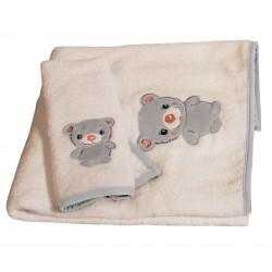 Βρεφικές Πετσέτες (Σετ 2τμχ) Polo Club Essential Baby 2910