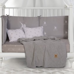 Κουβέρτα Πλεκτή Αγκαλιάς Polo Club Essential Baby 2956 75x100