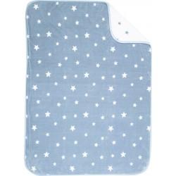 Nef-Nef Κουβέρτα Κούνιας Stellar Βελουτέ 100x140cm Blue