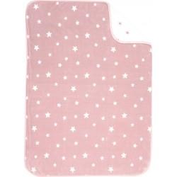 Nef-Nef Κουβέρτα Κούνιας Stellar Βελουτέ 100x140cm Pink