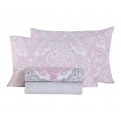 Nef-Nef Σετ Σεντόνια Υπέρδιπλα 240x260 Toscana pink