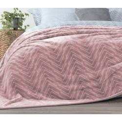 Nef-Nef Visual Κουβέρτα Βελουτέ Μονή 160x220 Pink