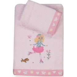 Παιδικές Πετσέτες (Σετ 2τμχ) Nef-Nef  Roller Girl
