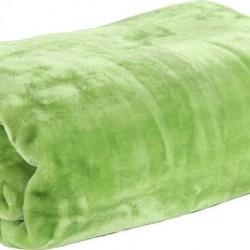 Nef-Nef Loft Κουβέρτα Βελουτέ Μονή 160x220 L.Green