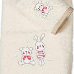 Παιδικές Πετσέτες (Σετ 2τμχ) Nef-Nef  Tiny Friends