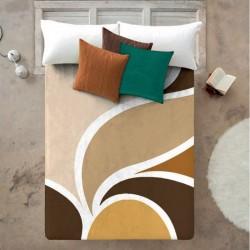 Κουβέρτα Βελουτέ Υπέρδιπλη Manterol Casa 220x240  Vip 558 C07