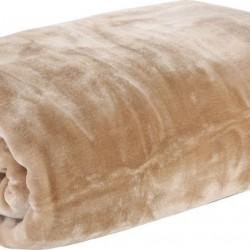 Nef-Nef Loft Κουβέρτα Βελουτέ Μονή 160x220 Linen