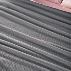 Guy Laroche Rombus Κουβέρτα Fleece Μονή 160x220 Silver