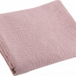Nef-Nef Κουβέρτα Αγκαλιάς & Λίκνου Tenderness Πικέ 80x110cm Pink