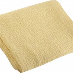Nef-Nef Κουβέρτα Κούνιας Tenderness Βαμβακερή 110x150cm Yellow