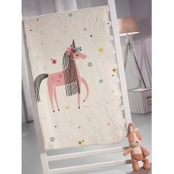 Saint Clair Κουβέρτα Πικέ Unicorn 160x220